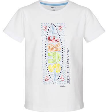Endo - T-shirt z krótkim rękawem dla chłopca 9-13 lat C91G601_2