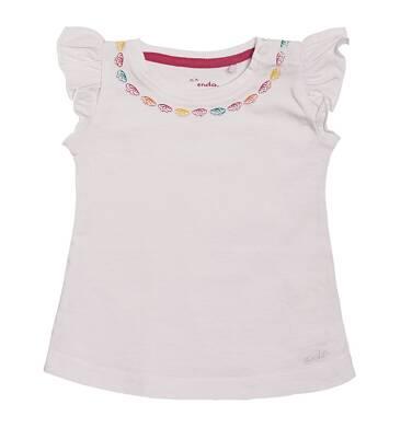 Endo - Bluzka z krótkim rękawem dla dziecka 0-3 lata N81G025_2
