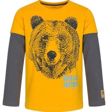 Endo - T-shirt z długim rękawem dla chłopca 9-13 lat C92G552_1