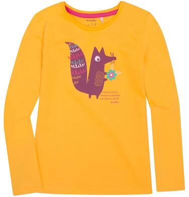 Endo - Bluzka z długim rękawem  dla dziewczynki 3-8 lat D72G100_1