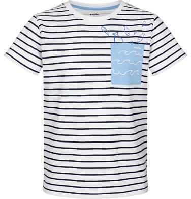 Endo - T-shirt z krótkim rękawem dla chłopca 9-13 lat C91G602_1
