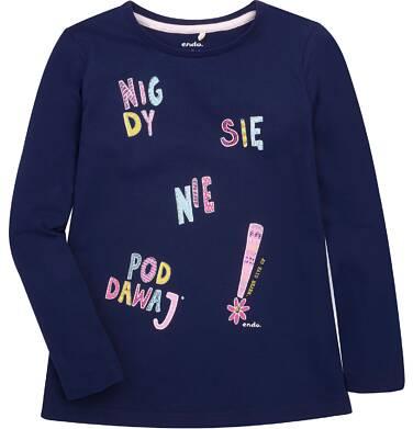 Endo - Bluzka z długim rękawem  dla dziewczynki 3-8 lat D72G130_1