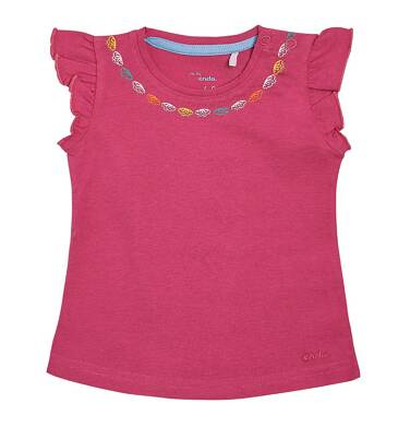 Endo - Bluzka z krótkim rękawem dla dziecka 0-3 lata N81G025_4