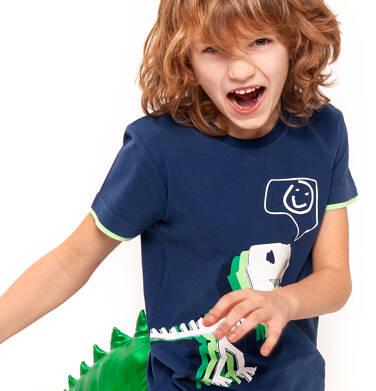 Endo - T-shirt z krótkim rękawem dla chłopca 9-13 lat C91G538_1