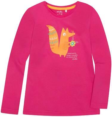 Endo - Bluzka z długim rękawem  dla dziewczynki 3-8 lat D72G100_2