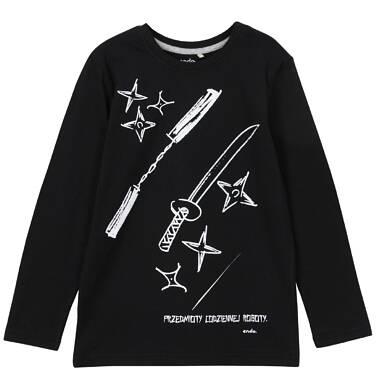 Endo - T-shirt z długim rękawem dla chłopca 3-8 lat C62G034_1