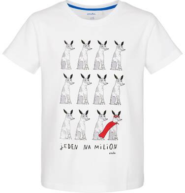 Endo - T-shirt z krótkim rękawem dla chłopca 9-13 lat C91G543_1