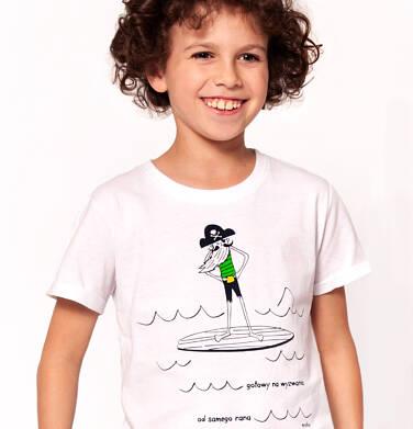 Endo - T-shirt z krótkim rękawem dla chłopca 3-8 lat C91G104_1