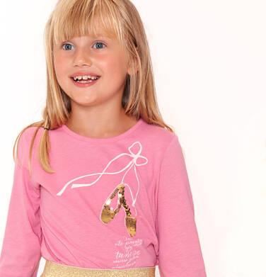 Endo - Bluzka z długim rękawem dla dziewczynki 3-8 lat D92G046_1