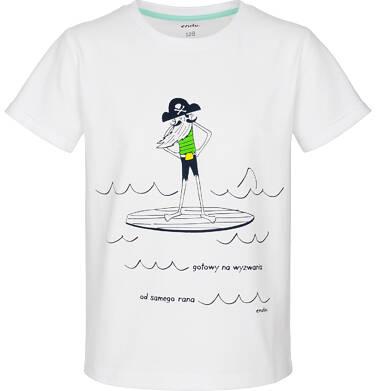 Endo - T-shirt z krótkim rękawem dla chłopca 9-13 lat C91G604_1