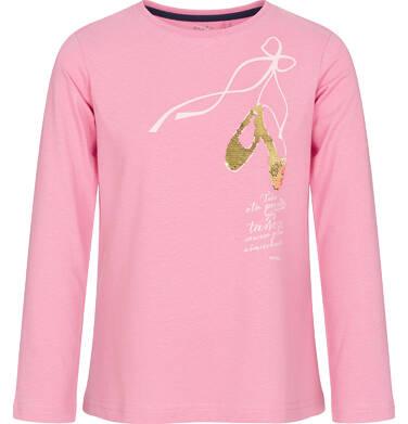 Endo - Bluzka z długim rękawem dla dziewczynki 9-13 lat D92G546_1