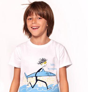 T-shirt z krótkim rękawem dla chłopca 3-8 lat C91G105_1