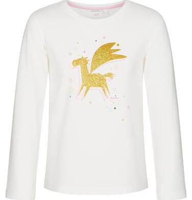 Endo - Bluzka z długim rękawem dla dziewczynki 3-8 lat D92G076_1