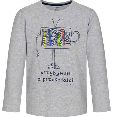 Endo - T-shirt z długim rękawem dla chłopca 9-13 lat C92G610_1
