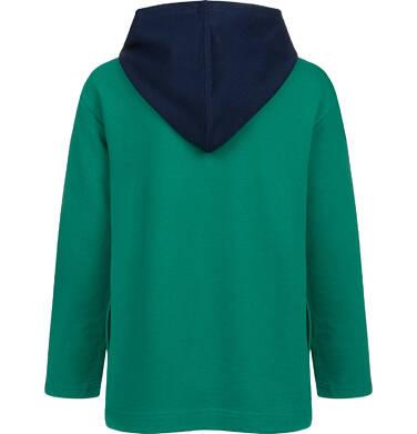 Endo - Bluza dla chłopca, kosmiczny motyw, zielona, 9-13 lat C04C040_1,2