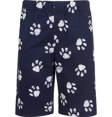 Endo - Piżama z krótkim rękawem, z niedźwiedziem, granatowa, 9-13 lat C05V015_1,2