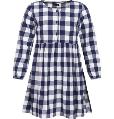 Endo - Sukienka flanelowa z długim rękawem dla dziewczynki 9-13 lat D82H544_1