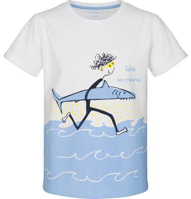 Endo - T-shirt z krótkim rękawem dla chłopca 9-13 lat C91G605_1