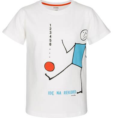 Endo - T-shirt z krótkim rękawem dla chłopca 9-13 lat C91G574_2