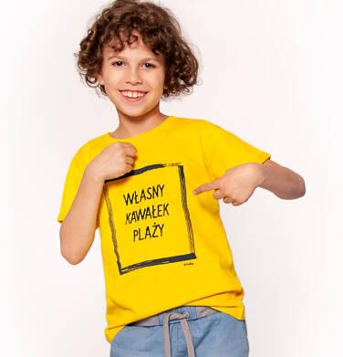 Endo - T-shirt z krótkim rękawem dla chłopca 3-8 lat C91G106_1