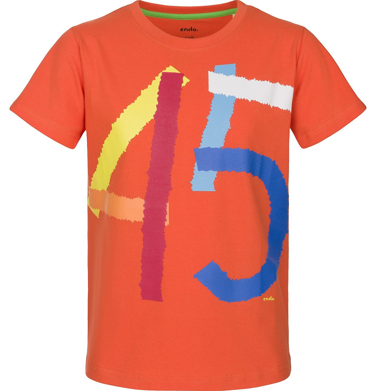 Endo - T-shirt z krótkim rękawem dla chłopca 9-13 lat C91G575_1