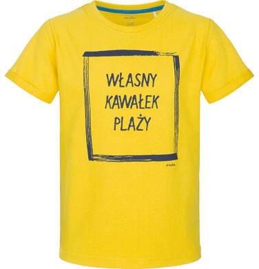 T-shirt z krótkim rękawem dla chłopca 9-13 lat C91G606_1
