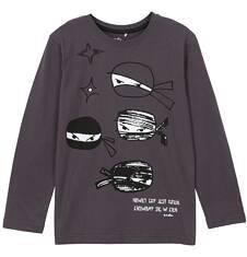 T-shirt z długim rękawem dla chłopca 3-8 lat C62G037_1