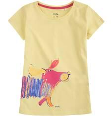 Bluzka z krótkim rękawem dla dziewczynki 4-8 lat D71G605_1