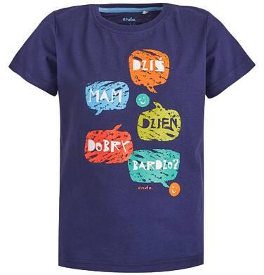 Endo - T-shirt dla chłopca 9-13 lat C81G512_1