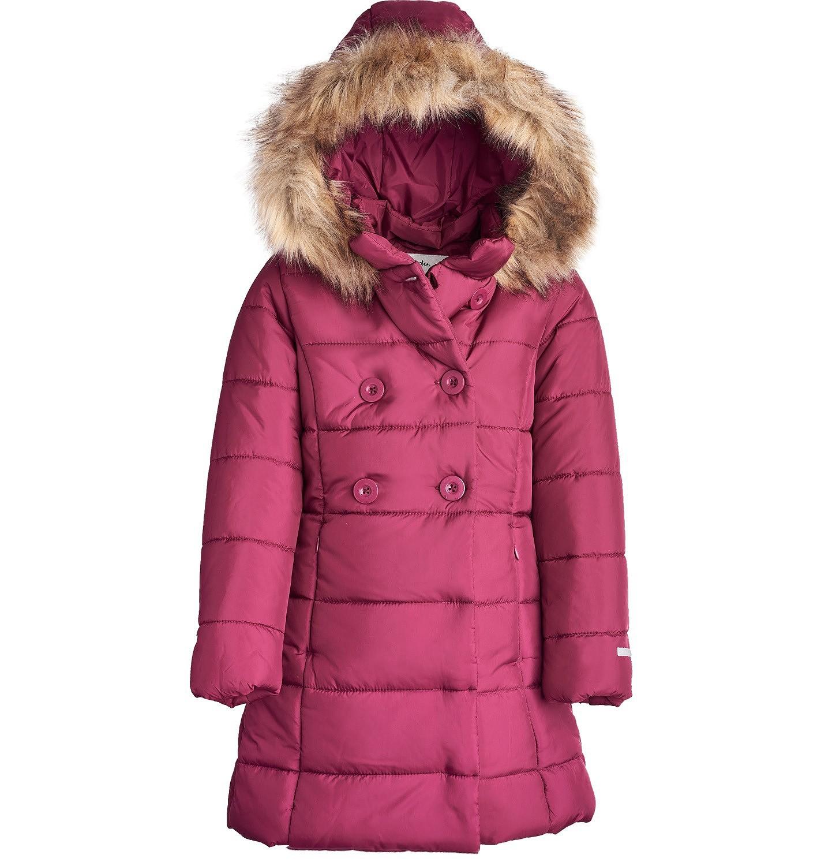 Endo - Płaszcz zimowy dla dziewczynki 9-13 lat D82A509_1
