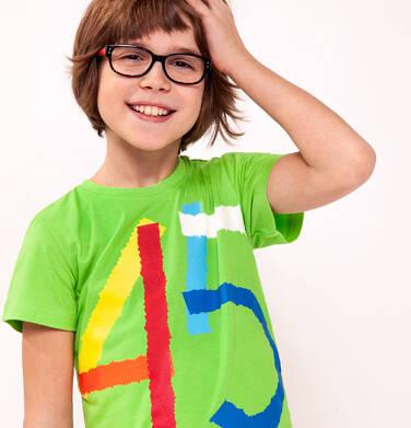 T-shirt z krótkim rękawem dla chłopca 9-13 lat C91G575_2