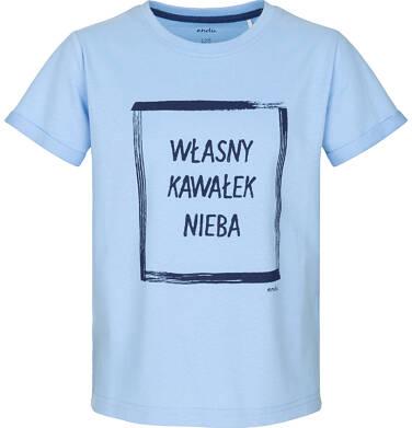 Endo - T-shirt z krótkim rękawem dla chłopca 3-8 lat C91G107_1