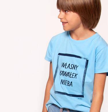 T-shirt z krótkim rękawem dla chłopca 3-8 lat C91G107_1