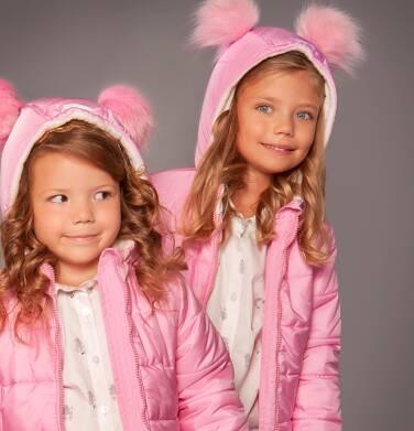 Endo - Kurtka zimowa z kapturem dla dziewczynki 3-8 lat D82A006_1
