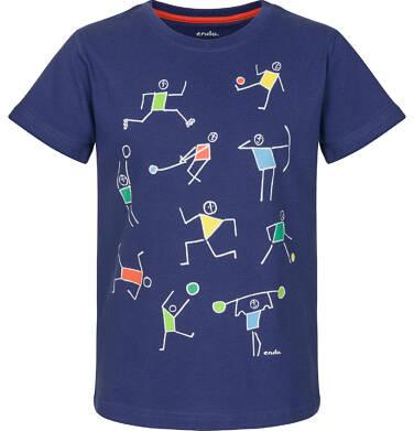 Endo - T-shirt z krótkim rękawem dla chłopca 9-13 lat C91G576_1