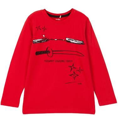 Endo - T-shirt z długim rękawem dla chłopca 3-8 lat C62G038_1