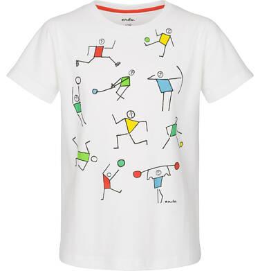 Endo - T-shirt z krótkim rękawem dla chłopca 9-13 lat C91G576_2