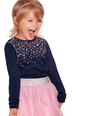 Endo - Bluzka z długim rękawem dla dziewczynki 3-8 lat D92G084_2