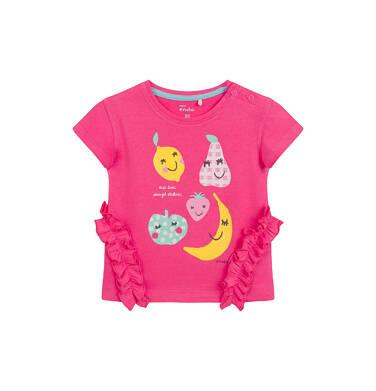 Endo - Bluzka dla dziecka do 2 lat, owocowy motyw, różowa N03G039_1 9