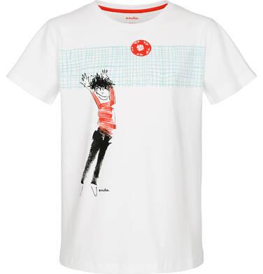 Endo - T-shirt z krótkim rękawem dla chłopca 9-13 lat C91G580_1