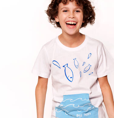 Endo - T-shirt z krótkim rękawem dla chłopca 3-8 lat C91G109_1