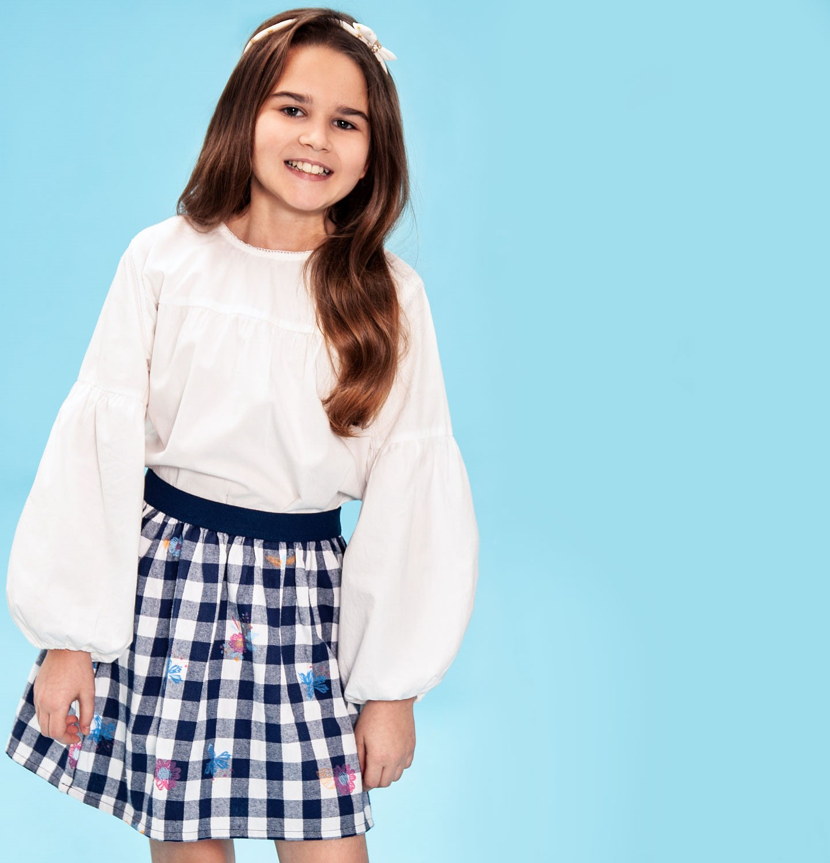 Endo - Spódnica dla dziewczynki 3-8 lat D82J011_1