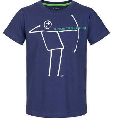 Endo - T-shirt z krótkim rękawem dla chłopca 9-13 lat C91G581_1