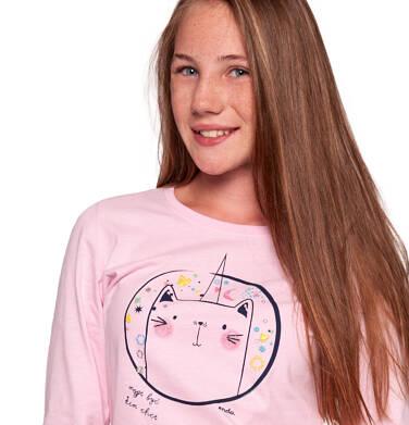 Endo - Bluzka z długim rękawem dla dziewczynki 9-13 lat D92G589_1