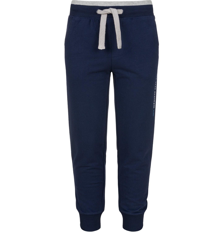Endo - Spodnie dresowe dla chłopca, granatowe, 2-8 lat C03K051_1
