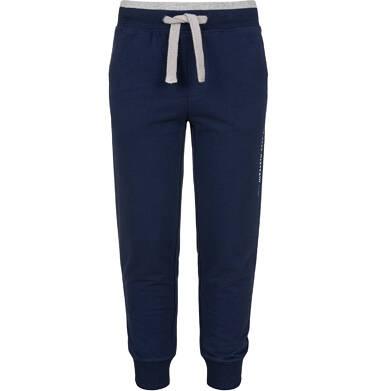 Endo - Spodnie dresowe dla chłopca, granatowe, 2-8 lat C03K051_1 12