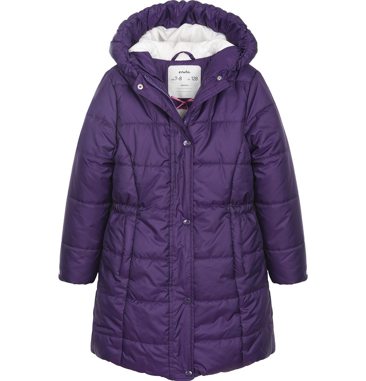 Endo - Płaszcz zimowy dla dziewczynki 9-13 lat D82A507_1