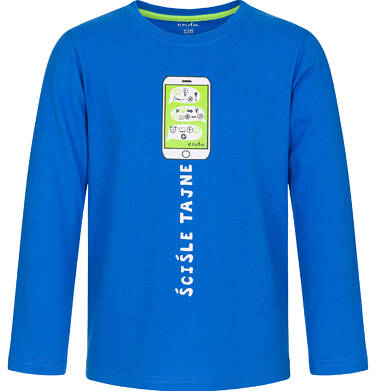 Endo - T-shirt z długim rękawem dla chłopca 3-8 lat C92G111_1