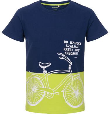 Endo - T-shirt z krótkim rękawem dla chłopca 9-13 lat C91G585_1