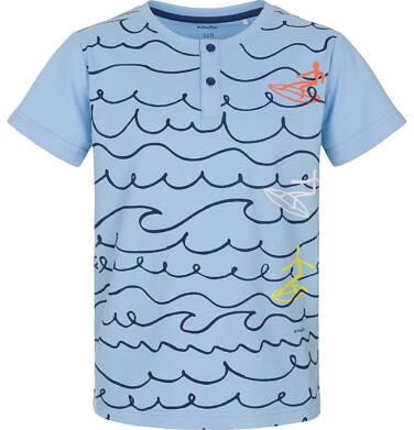 Endo - T-shirt z krótkim rękawem dla chłopca 3-8 lat C91G110_1